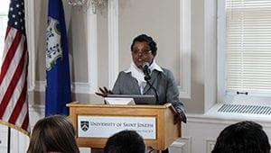 USJ's Women L.E.A.D. in S.T.E.A.M. Welcome Dr. Honey Reddi