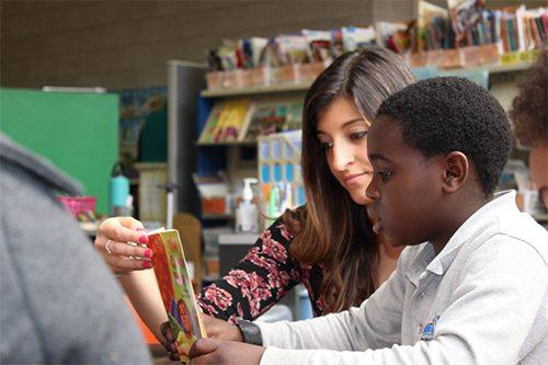 Literacy Internship Program Student