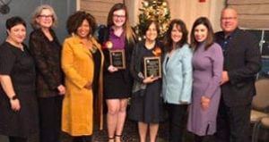 National Association of Social Workers Honors Members of USJ Community