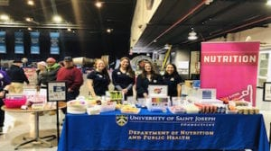 USJ Volunteers with The Special Olympics Connecticut Winter Games
