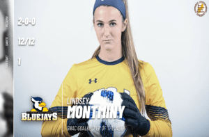 Montminy Named GNAC Goalkeeper of the Week