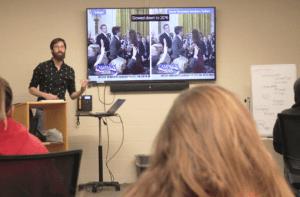 CPTV Post Production Editor Speaks at USJ