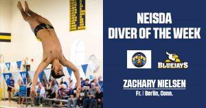 Nielsen Crowned NEISDA Diver Of The Week