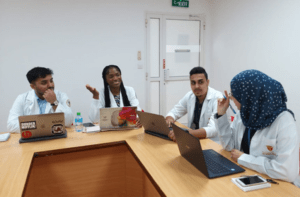 USJ Pharmacy Students Begin Rotations at Gulf Medical University