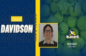 Craig Davidson Named USJ's First Head Men's Tennis Coach
