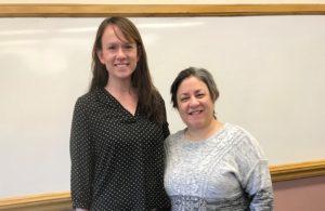 USJ's State Representative and Adjunct Professor Jillian Gilchrest guest teaches social work class