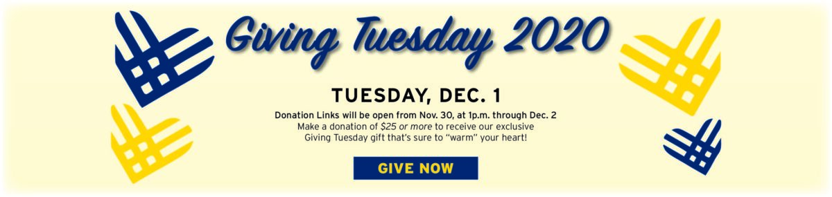Giving Tuesday Campaign 2020 Give Now