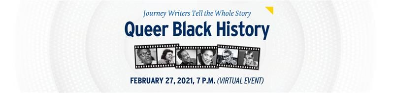 Journey Writers Queer Black History Virtual Event | Diversity Office